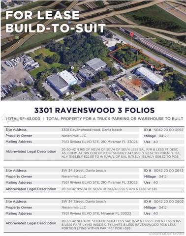3301 Ravenswood Rd, Dania Beach, FL 33312 (MLS #A10786268) :: RE/MAX