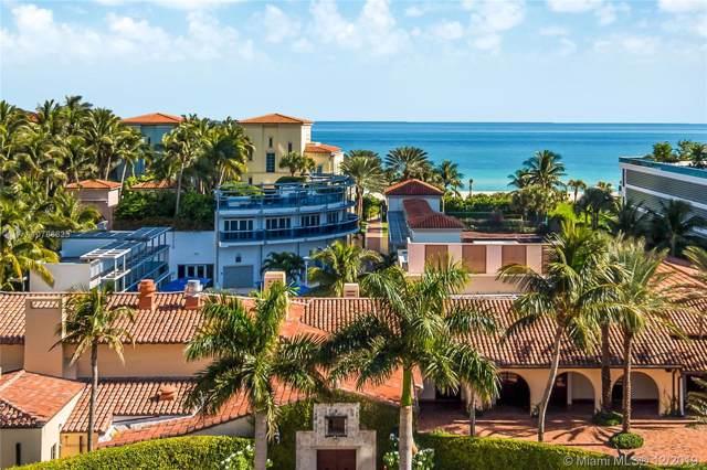 5900 Collins Ave #702, Miami Beach, FL 33140 (MLS #A10786625) :: Miami Villa Group