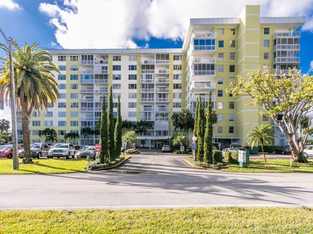 4400 Hillcrest Dr 607A, Hollywood, FL 33021 (MLS #A10786757) :: United Realty Group