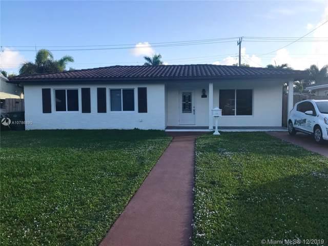 1100 E Moffett St, Hallandale, FL 33009 (MLS #A10786890) :: RE/MAX Presidential Real Estate Group