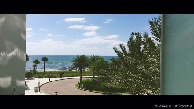 4111 S Ocean Dr #204, Hollywood, FL 33019 (MLS #A10786898) :: The Erice Group