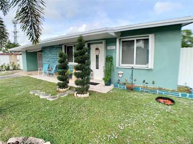 7861 Sheridan St, Hollywood, FL 33024 (MLS #A10786918) :: The Howland Group