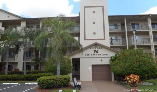 800 SW 142nd Ave 409N, Pembroke Pines, FL 33027 (MLS #A10787359) :: RE/MAX Presidential Real Estate Group