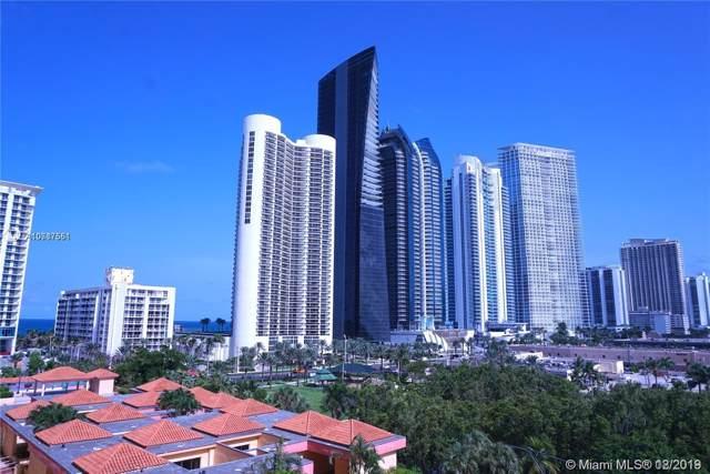 210 174th St #809, Sunny Isles Beach, FL 33160 (MLS #A10787551) :: The Erice Group