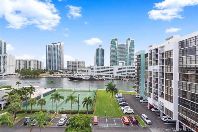 400 Leslie Dr #806, Hallandale, FL 33009 (MLS #A10787661) :: Castelli Real Estate Services