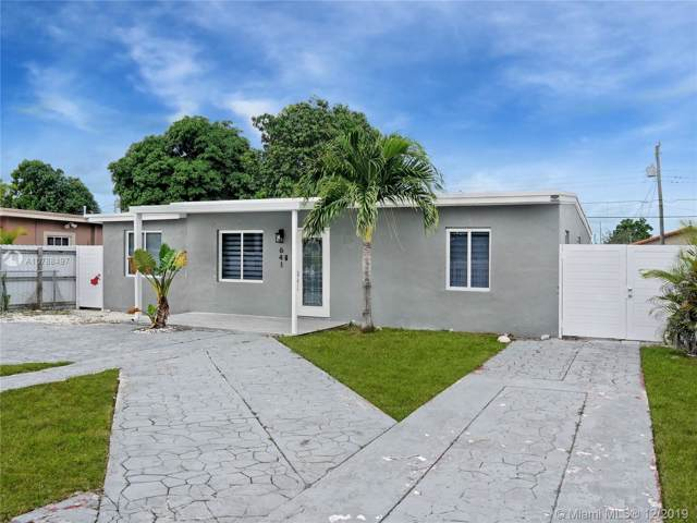 641 E 44th St, Hialeah, FL 33013 (MLS #A10788497) :: Green Realty Properties