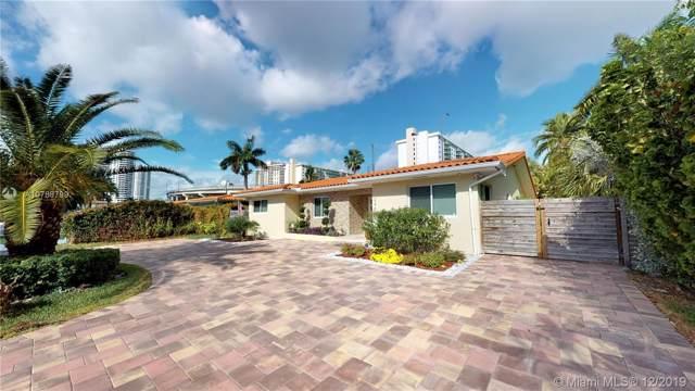 245 191st Ter, Sunny Isles Beach, FL 33160 (MLS #A10788799) :: Berkshire Hathaway HomeServices EWM Realty