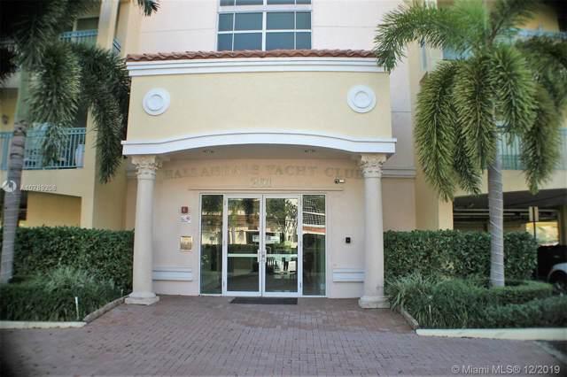 201 Golden Isles Dr #301, Hallandale, FL 33009 (MLS #A10789208) :: The Rose Harris Group
