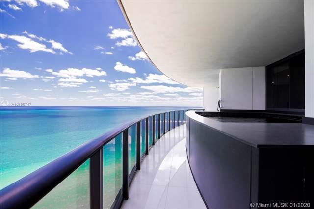 18555 Collins Ave #2805, Sunny Isles Beach, FL 33160 (MLS #A10790747) :: Berkshire Hathaway HomeServices EWM Realty