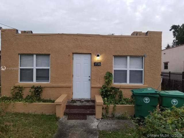 1538 NW 34 ST., Miami, FL 33142 (MLS #A10791665) :: Green Realty Properties
