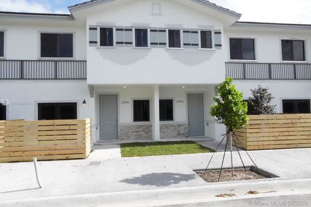 25071 SW 133 PL #25071, Homestead, FL 33032 (MLS #A10792912) :: THE BANNON GROUP at RE/MAX CONSULTANTS REALTY I