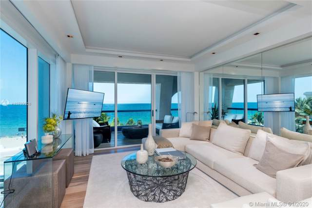 551 N Fort Lauderdale Beach Blvd #301, Hallandale Beach, FL 33304 (MLS #A10793028) :: The Teri Arbogast Team at Keller Williams Partners SW