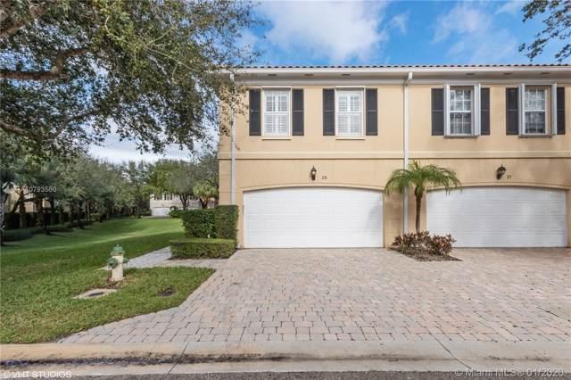 25 Oakleaf Ct #25, Tequesta, FL 33469 (MLS #A10793560) :: Green Realty Properties