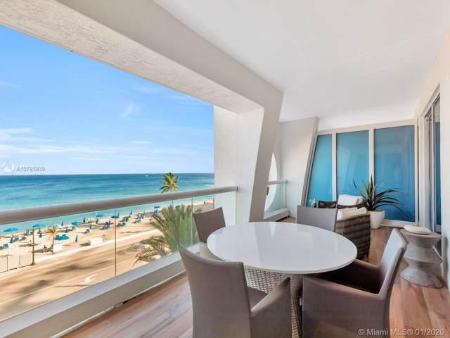 551 N Fort Lauderdale Beach Blvd R504, Fort Lauderdale, FL 33304 (MLS #A10793939) :: Carole Smith Real Estate Team