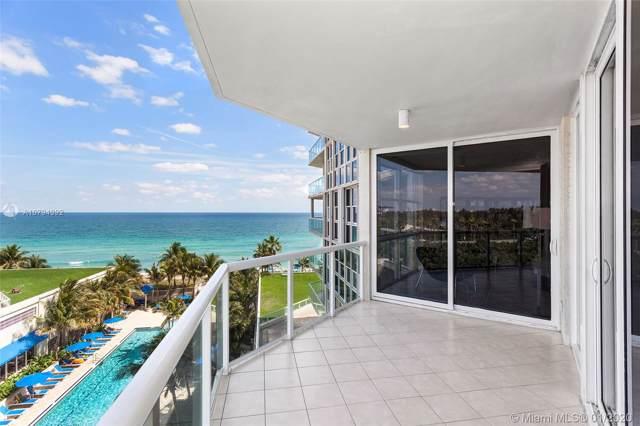 6001 N Ocean Dr #602, Hollywood, FL 33019 (MLS #A10794392) :: Berkshire Hathaway HomeServices EWM Realty