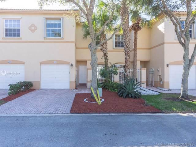 620 NW 170th Ter #620, Pembroke Pines, FL 33028 (MLS #A10794519) :: Green Realty Properties