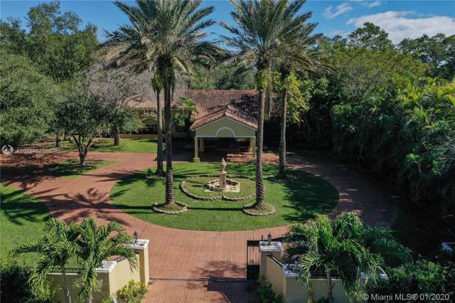 8825 SW 64th Ct, Pinecrest, FL 33156 (MLS #A10794622) :: The Adrian Foley Group