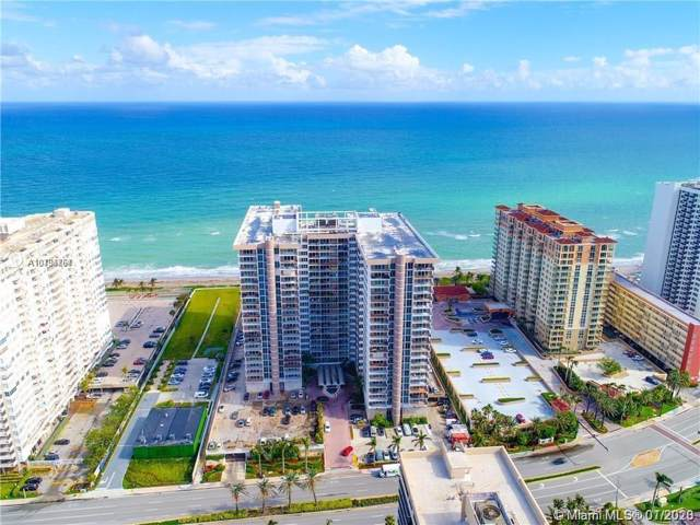 2030 S Ocean Dr #404, Hallandale, FL 33009 (MLS #A10794767) :: The Riley Smith Group