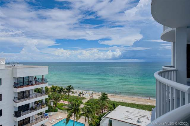 5401 Collins Ave #707, Miami Beach, FL 33140 (MLS #A10794830) :: Patty Accorto Team