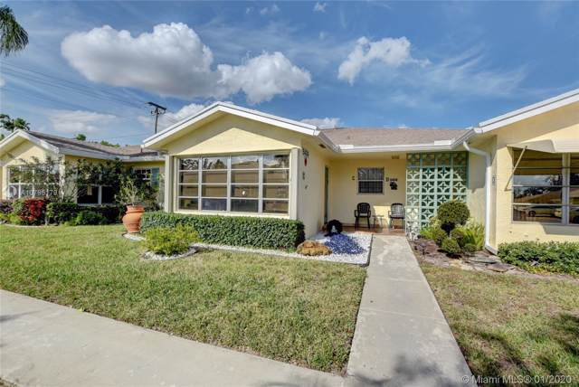 5424 Lakefront Blvd C, Delray Beach, FL 33484 (MLS #A10795179) :: Green Realty Properties