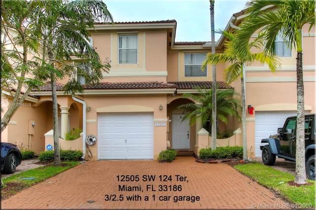 12505 SW 124th Ter #12505, Miami, FL 33186 (MLS #A10795219) :: Castelli Real Estate Services
