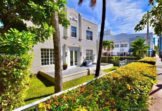 605 Euclid Ave #207, Miami Beach, FL 33139 (MLS #A10795289) :: Grove Properties