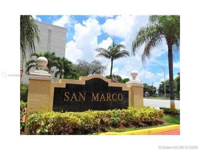 8830 Fontainebleau Blvd #203, Miami, FL 33172 (MLS #A10795684) :: Berkshire Hathaway HomeServices EWM Realty