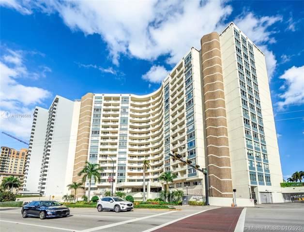 3180 S Ocean Dr #121, Hallandale Beach, FL 33009 (MLS #A10796560) :: Prestige Realty Group