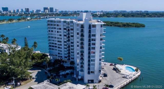 11930 N Bayshore Dr #705, North Miami, FL 33181 (MLS #A10796613) :: Lucido Global