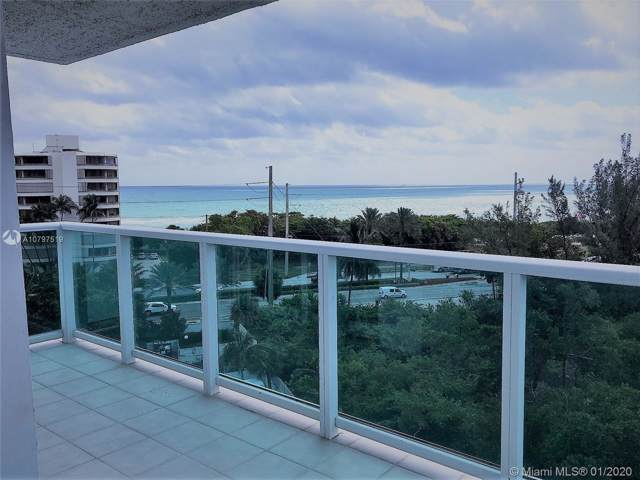 100 Bayview Dr #716, Sunny Isles Beach, FL 33160 (MLS #A10797519) :: United Realty Group