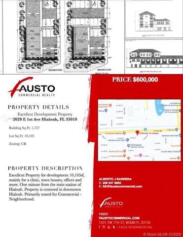2020 E 1st Ave, Hialeah, FL 33010 (MLS #A10797817) :: Berkshire Hathaway HomeServices EWM Realty