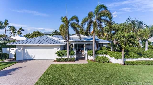 236 Beacon Ln, Jupiter Inlet Colony, FL 33469 (MLS #A10797908) :: Green Realty Properties