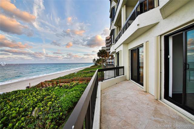 3201 S Ocean Blvd #101, Highland Beach, FL 33487 (MLS #A10798078) :: THE BANNON GROUP at RE/MAX CONSULTANTS REALTY I