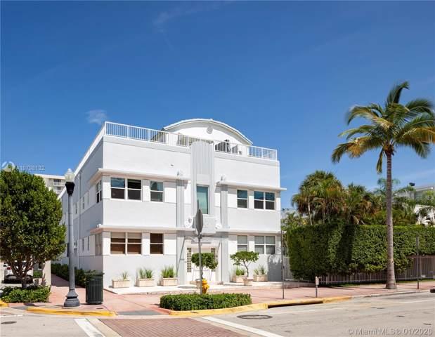 361 Collins Ave A10, Miami Beach, FL 33139 (MLS #A10798132) :: Grove Properties