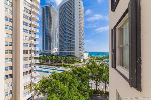 1865 S Ocean Dr 8E, Hallandale Beach, FL 33009 (MLS #A10798336) :: The Pearl Realty Group