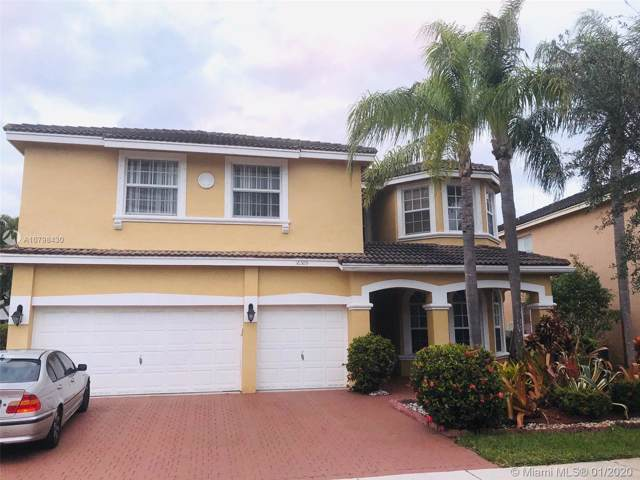16309 SW 15th St, Pembroke Pines, FL 33027 (MLS #A10798430) :: The Riley Smith Group