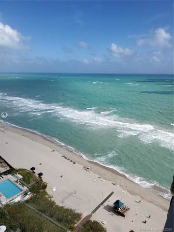 17375 Collins Ave #2707, Sunny Isles Beach, FL 33160 (MLS #A10798447) :: The Jack Coden Group