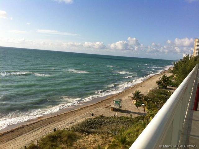 1850 S Ocean Dr #908, Hallandale, FL 33009 (MLS #A10798883) :: The Riley Smith Group