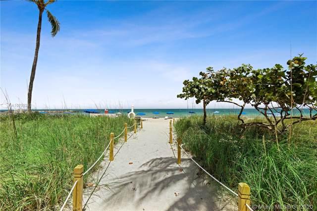 10275 Collins Ave #207, Bal Harbour, FL 33154 (MLS #A10799282) :: The Paiz Group