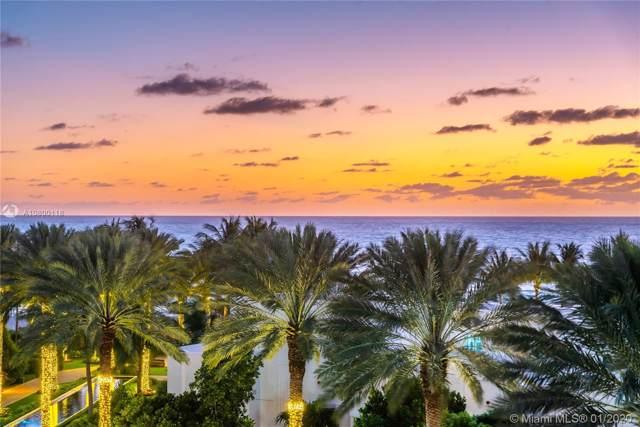100 S Pointe Dr #610, Miami Beach, FL 33139 (MLS #A10800118) :: The Paiz Group