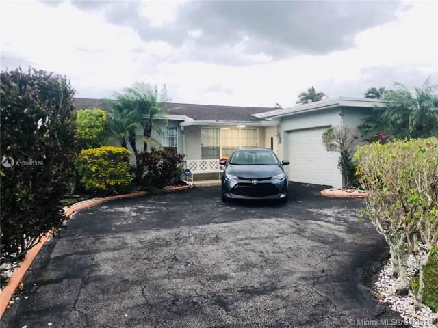 10511 Sunset Strip, Sunrise, FL 33322 (MLS #A10800375) :: Patty Accorto Team