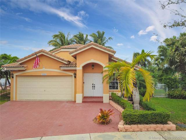 20383 SW 3rd Street, Pembroke Pines, FL 33029 (MLS #A10800483) :: Berkshire Hathaway HomeServices EWM Realty