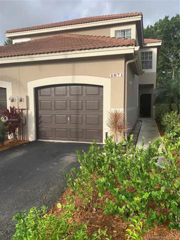 1071 Sorrento Dr #6, Weston, FL 33326 (MLS #A10800539) :: United Realty Group