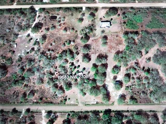 19683 NW 270th St, Other City - In The State Of Florida, FL 34972 (MLS #A10800772) :: Berkshire Hathaway HomeServices EWM Realty