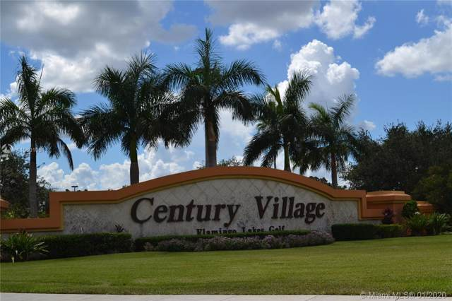 13455 SW 3rd St 306S, Pembroke Pines, FL 33027 (MLS #A10801061) :: Patty Accorto Team