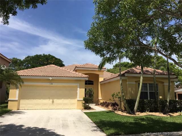 1138 Croton Ct, Weston, FL 33327 (MLS #A10801107) :: Castelli Real Estate Services