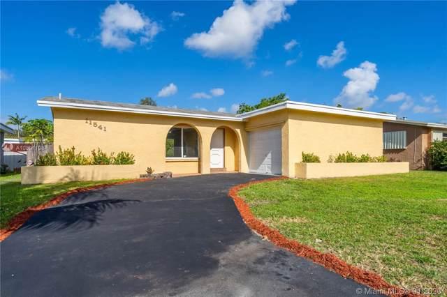 11541 NW 33rd St, Sunrise, FL 33323 (MLS #A10801108) :: Berkshire Hathaway HomeServices EWM Realty