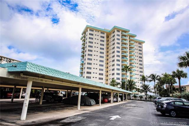 6000 N Ocean Blvd 7E, Lauderdale By The Sea, FL 33308 (MLS #A10801243) :: Castelli Real Estate Services