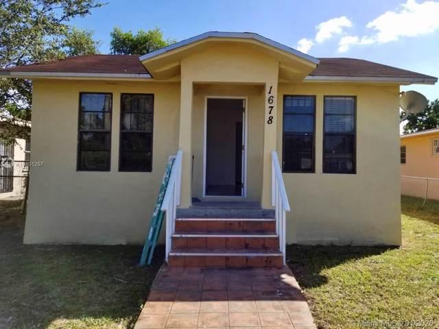 1678 NW 64th St, Miami, FL 33147 (MLS #A10801257) :: Castelli Real Estate Services