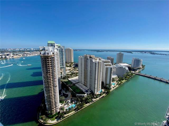 465 Brickell Ave #3905, Miami, FL 33131 (MLS #A10801412) :: Berkshire Hathaway HomeServices EWM Realty